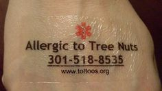 TEMPORARY TATTOO'S FOR SPECIAL NEEDS CHILDREN  Perfect for my son whom is Non-Verbal