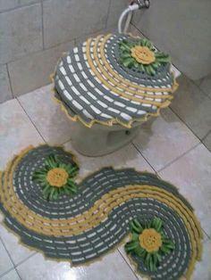 Crochet bathroom set  HUZUR SOKAĞI (Yaşamaya Değer Hobiler)
