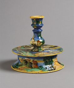 Candlestick Italy, 1535 The Victoria & Albert Museum