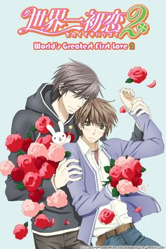 Sekai Ichi Hatsukoi - World's Greatest First Love    Such an awesome BL anime. Its really romantic....