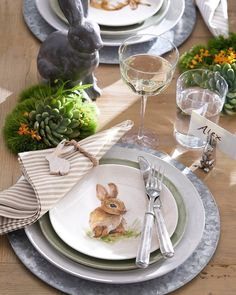 """6,109 Likes, 69 Comments - Pottery Barn (Pottery Barn) on Instagram: """"Pack up the hearts and bring out the bunnies, Easter is around the corner!  . . . . .…"""""""