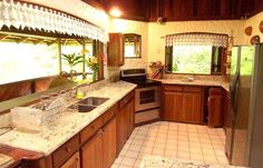 Our fully equipped kitchen has everything you need. - The Magic Moon Beach House! Deluxe 3 BR Beachfront -  - rentals