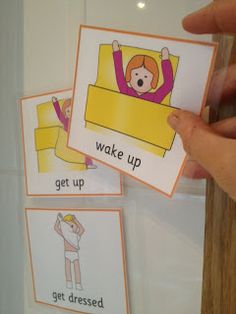 Downs Side Up: How to Make a Visual Timetable for your child #SEN #specialneeds #autism