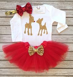 A personal favorite from my Etsy shop https://www.etsy.com/listing/474808826/christmas-bodysuit-rudolph-the-reindeer