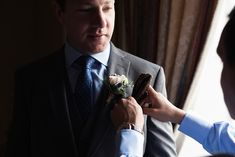 Finishing touches for the groom. A real wedding by Couple Photography Wedding Ceremony, Wedding Day, Up For The Challenge, Magical Wedding, Sunset Photos, Down Hairstyles, Looking Stunning, House Party