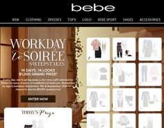 Win $1,000 bebe  Gift Cards
