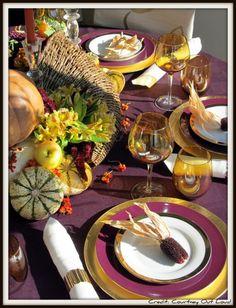 Autumn Table Scape