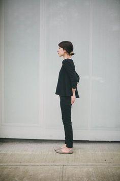 Simple all black