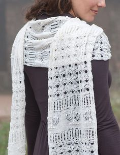 Ravelry: Crowning Glory Cobweb Shawl pattern by Lucinda Guy  #knit