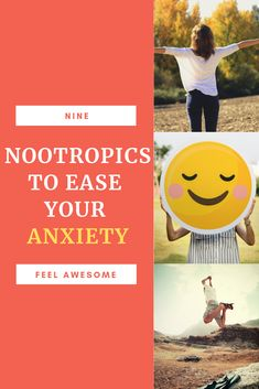 9 Effects Of Nootropics That Help Ease Your Anxiety and depression and make you feel awesome, simple ways to calm down when anxious naturally. Read on to know the instant anxiety relief tips. #anxiety #depression