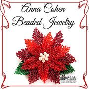 Beadwork Jewelry by AnnaCohen on Etsy