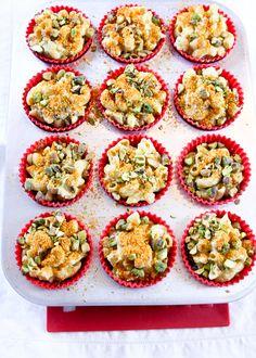 Cauliflower Mac & Cheese Muffins {#lowcarb #glutenfree} - eBook #30macncheese #recipes