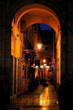 Pasaje Chinitas, Málaga.