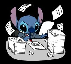Stitch Stickers by The Walt Disney Company Ltd ( Japan). Stitch (also known as Experiment is a fictional character in the Lilo & Stitch. Lilo Stitch, Lilo And Stitch Quotes, Cute Stitch, Disney Phone Wallpaper, Cartoon Wallpaper, Kawaii Drawings, Disney Drawings, Stich Disney, Stitch Drawing