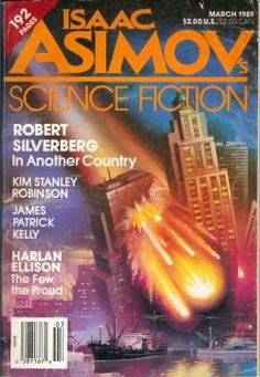 ALAN GUTIERREZ - In Another Country by Robert Silverberg - March 1989 Isaac Asimov's Science Fiction Magazine