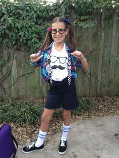 nerd day at school