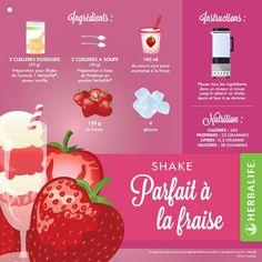 Herbalife Strawberry Parfait Shake More Herbalife F1, Herbalife Meal Plan, Herbalife Distributor, Herbalife Nutrition, Herbalife Motivation, Herbalife Products, Nutrition Club, Nutrition Shakes, Milk Shakes