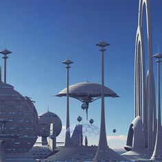 Future City Model available on Turbo Squid, the world's leading provider of digital models for visualization, films, television, and games. Fantasy Art Landscapes, Fantasy Landscape, Retro Futuristic, Futuristic Architecture, Sci Fi City, 70s Sci Fi Art, Sci Fi Environment, Alien Concept Art, Spaceship Art