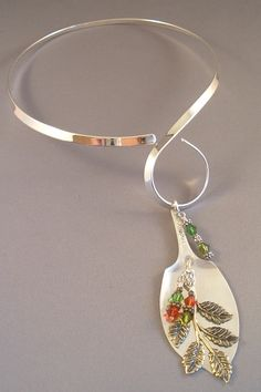 Upcycled Silver Plated Tudor Serving Spoon by reflections1 on Etsy, $98.00