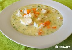 Citromos halleves rizzsel Cheeseburger Chowder, Soup, Soups, Chowder