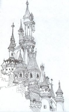 """iColor """"Architecture""""  Castle by kelly.meli 432x700"""