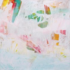 """Tidal Wash c2012 Original large abstract Painting 48"""" X 48"""" is available at Lucas Street Antiques 2023 Lucas Dr Dallas Texas.     And is also available as a Fine Art Print by Paul Ashby abstract artist Dallas Texas."""