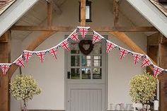 Perfect for an abundance of UK centered celebrations. #flags #Union_Jack #bunting #UK #British #Britain #jubilee