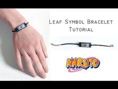 Polymer Clay Tutorial: Naruto Leaf Symbol Inspired Bracelet - YouTube