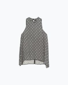 Image 8 of HALTER NECK TOP from Zara