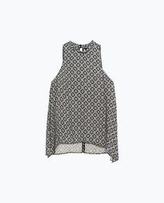 Image 8 of HALTER NECK TOP from Zara