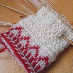 tveband1 Knit Mittens, Mitten Gloves, Twine, Knit Crochet, Patterns, Knitting, Christmas, Crafts, Fingerless Gloves