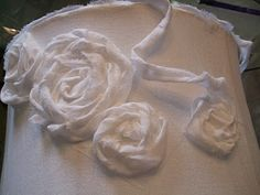 fabric flowers