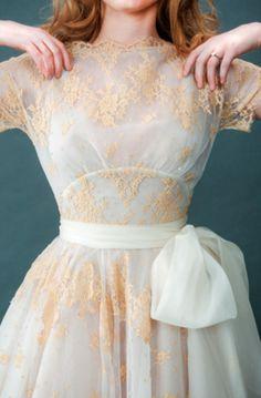 beautiful retro style dress