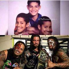 Roman Reigns Family, Wwe Roman Reigns, Wrestling Stars, Wrestling Wwe, Wwe Fanfiction, Roman Reighns, Allen Jones, Wwe World, We Are Family