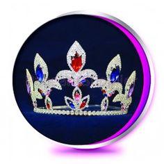 The Fireworks Vanessa - Pageant Crown or Wedding Princess Tiara (Homecoming, Prom, Bridesmaid, Birthdays, Bachlorette, etc)