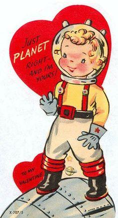 Tumblr_mhyt37kizq1ql50mdo1_400 My Funny Valentine, Valentines Puns, Valentine Picture, Valentine Images, Valentines Greetings, Valentines For Boys, Valentine Stuff, Vintage Halloween Cards, Vintage Valentine Cards