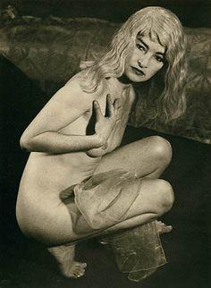 MAN RAY Juliet in a Blonde Wig, 1950 - 1951