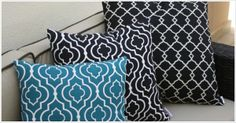 GREAT OUTDOOR CUSHIONS www.australiandesigner.net.au | Locally designed + made for your home. Designs that make you smile! Outdoor Cushions, Make You Smile, Outdoor Living, Throw Pillows, Make It Yourself, Home, Design, Outdoor Life, Cushions