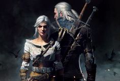The-witcher-3-wild-hunt-geralt-and-ciri-wallpaper