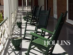 Hollins Rocking Chairs: Home away from home....