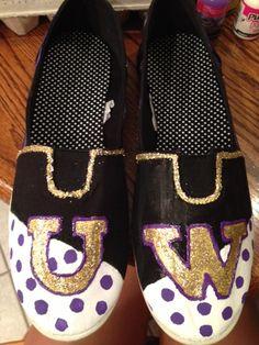 University of Washington shoes! #UW #GoDawgs