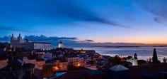 Feeling romantic? Forget Paris. #Lisbon has best sunsets. #Portugal