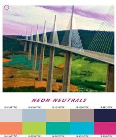 Spring 14 Neon Neutrals