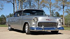 1955 Chevrolet Bel Air 502/502 HP, Automatic presented as lot F230 at Houston, TX 2015 - image1