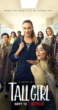 Tall Girl on Netflix is perfect for pre-teen girls Films Netflix, Netflix Movies To Watch, Movies Showing, Movies And Tv Shows, Applis Photo, Paris Berelc, Movie Dialogues, Bon Film, Tween