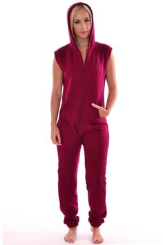 Pop Couture - Geba Quilted Style Padded All in one Onesies Jumpsuit in Wine, £25.00 (http://www.popcouture.co.uk/clothing/onesies/geba-quilted-style-padded-all-in-one-onesies-jumpsuit-in-wine/)