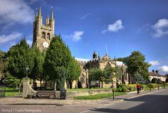 Tideswell Church, Derbyshire.