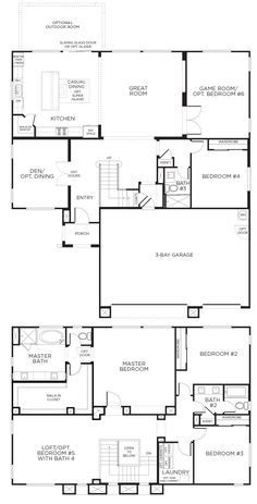 Four Story House Plans florida style house plans - 7883 square foot home , 2 story, 7