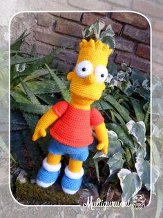 Bart Simpson Amigurumi  MADE TO ORDER by Multigurumi on Etsy, $82.00