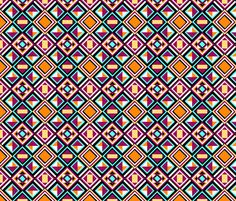 Quilt Pattern fabric by kcs on Spoonflower - custom fabric